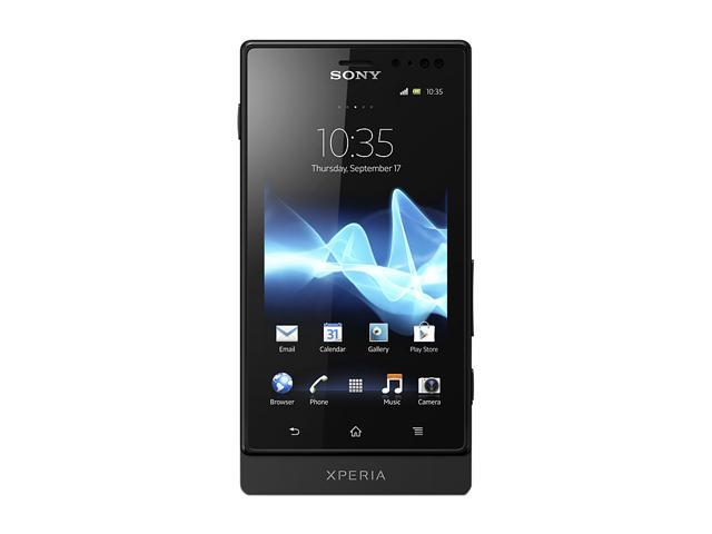 Sony Xperia Sola 8 GB (5 GB user available), 512 MB RAM Unlocked GSM Android Smart Phone w/ Dual Core / NFC / Micro SIM / ...