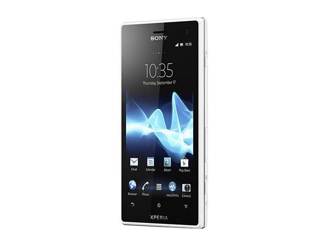 "Sony Xperia acro S LT26W 16 GB storage (11 GB user available), 1 GB RAM IP57 12.1 MP Camera Unlocked GSM Smart Phone 4.3"" ..."