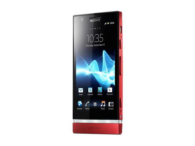 Sony Xperia P LT22i Pink 3G Unlocked Android GSM Smart Phone with Sony WhiteMagic Technology / 4