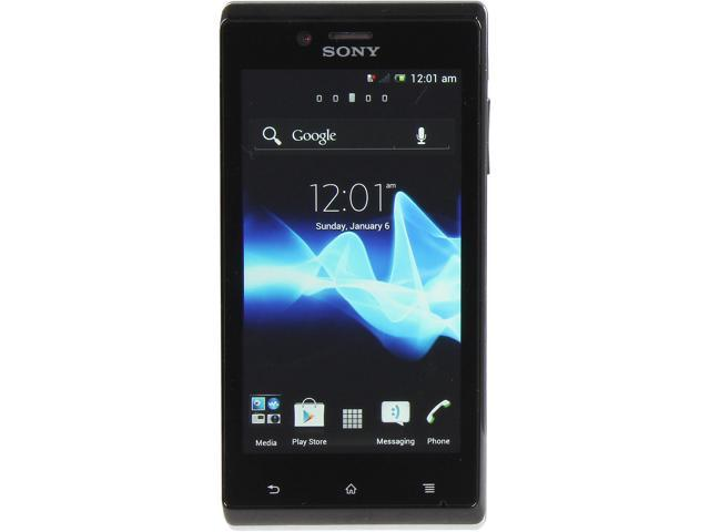 Sony Xperia J ST26a White 3G Android 4.0 Touch Screen 5.0 MP Camera Unlocked GSM Smart Phone