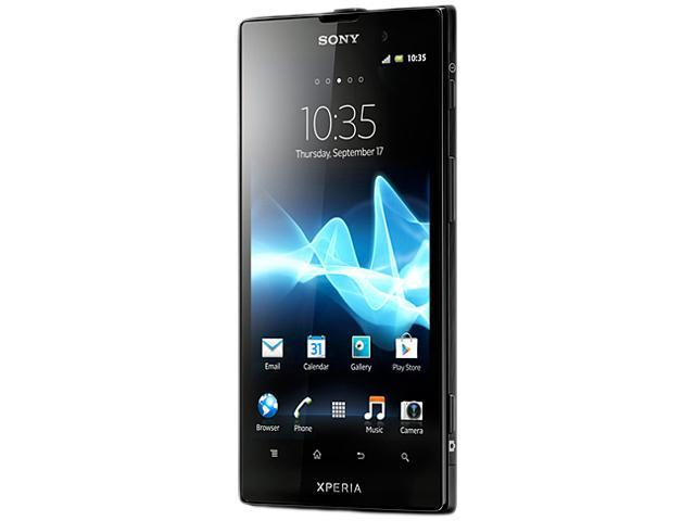 "Sony Xperia ion HSPA LT28H 13.2 GB (12.9 GB user-available memory), 1 GB RAM Unlocked Cell Phone 4.55"" Black"