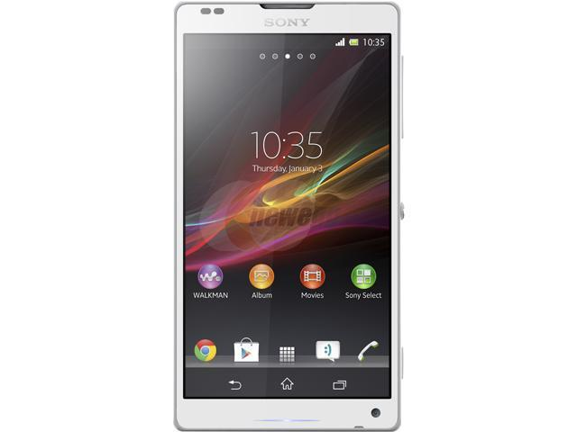 Sony Xperia ZL C6502 White 3G 16GB Unlocked Cell Phone