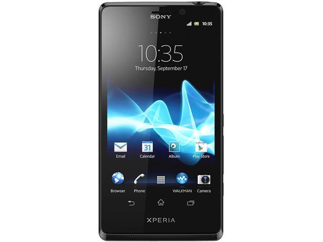 Sony Xperia T LTE LT30a Black 4G Dual-Core 1.5GHz 16GB Unlocked Cell Phone
