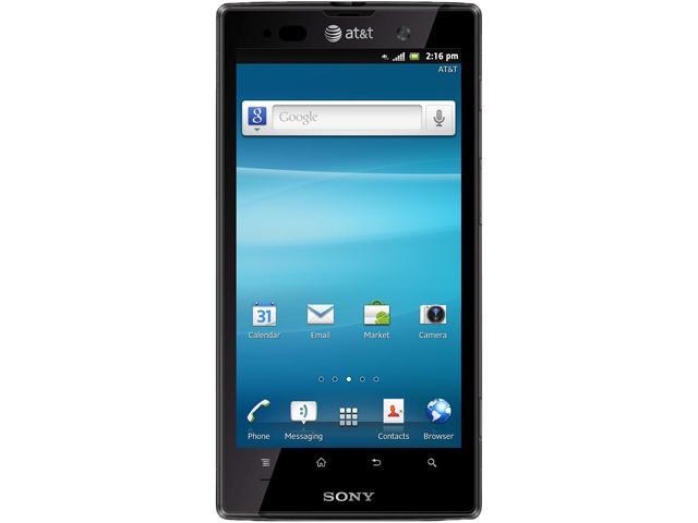 "Sony Xperia ion LTE LT28A Black 16GB 4G LTE Unlocked GSM Android Phone 4.55"" 1GB RAM Black"
