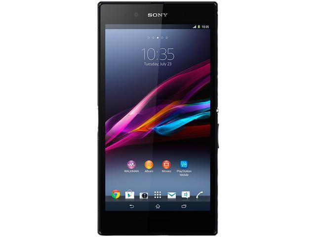 "Sony Xperia Z Ultra C6802 16GB 3G Unlocked Cell Phone 6.4"" 2GB RAM Black"