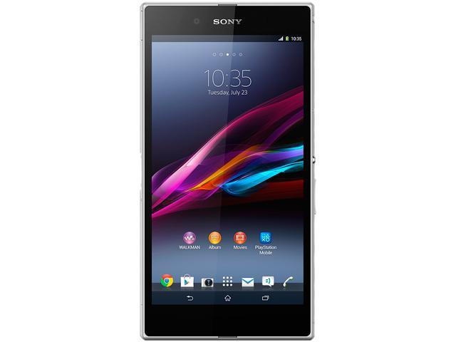 "Sony Xperia Z Ultra C6802 16GB 3G Unlocked Cell Phone 6.4"" 2GB RAM White"