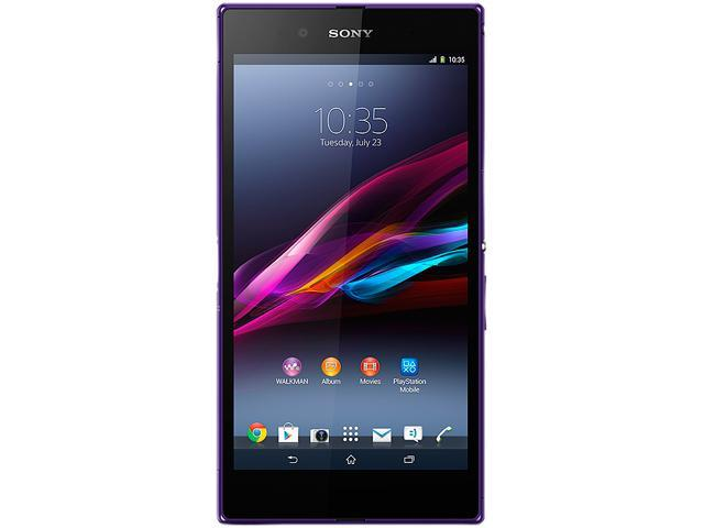 "Sony Xperia Z Ultra C6802 16GB 3G Unlocked Cell Phone 6.4"" 2GB RAM Purple"