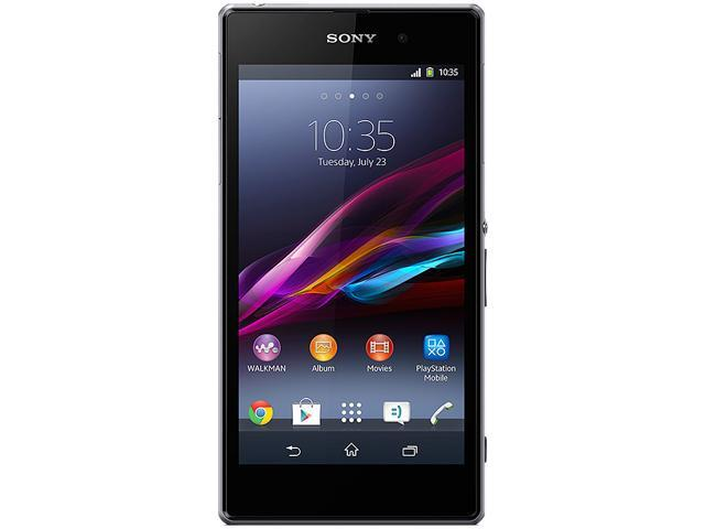 Sony Xperia Z1 C6906 Black Unlocked Cell Phone