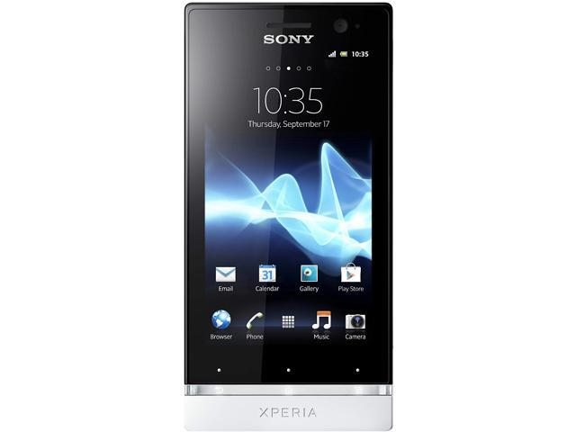 Sony Xperia U ST25a White 3G Unlocked GSM Android Cell Phone