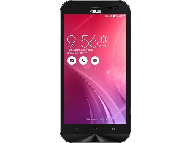 "Asus Zenfone Zoom Unlocked Smart Phone, 5.5"" Black, 64GB Storage 4GB RAM, US Warranty"