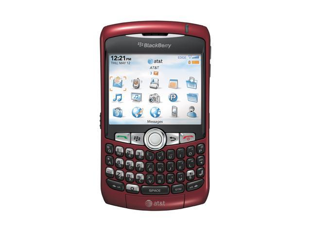 "BlackBerry Curve 8310 64 MB ROM Unlocked GSM Cell Phone w/ GPS / BlackBerry OS / 2MP Camera 2.5"" Red"