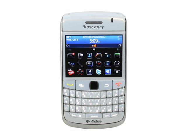 BlackBerry Bold White 3G Unlocked GSM Smart Phone w/ Full QWERTY Keyboard / BlackBerry OS 6.0 / 2.44