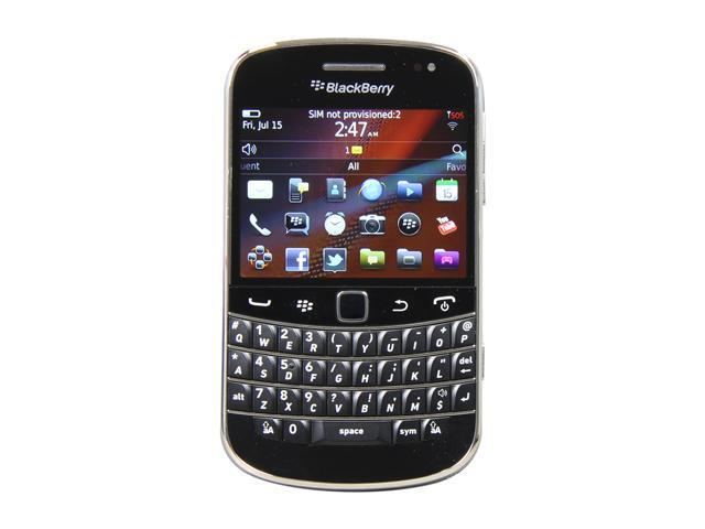 BlackBerry Bold Black 3G Unlocked GSM Smart Phone w/ Full QWERTY Keyboard / Wi-Fi / 5 MP Camera (9900)