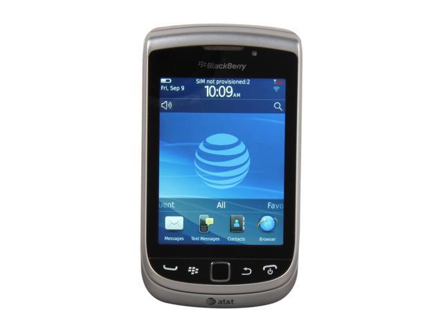 BlackBerry Torch Black 3G Unlocked GSM Blackberry OS Phone w/ Blackberry OS 7.0 / 3.2