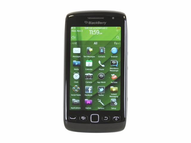 BlackBerry Torch Black 3G Unlocked GSM Phone w/ Blackberry OS 7 / 3.7