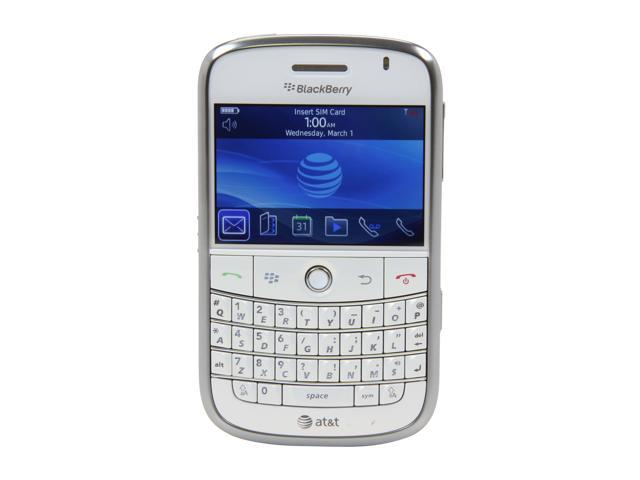 BlackBerry Bold 9000 White 3G QWERTY Keyboard 2.0 MP Camera Unlocked GSM Smart Phone