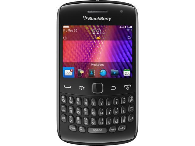 BlackBerry Curve 9370 Black 3G Verizon + GSM Unlocked Cell Phone