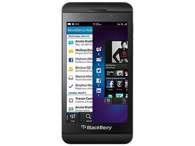 BlackBerry Z10 STL100-3 Black 3G 4G LTE AT&T Unlocked OS 10 Cell Phone
