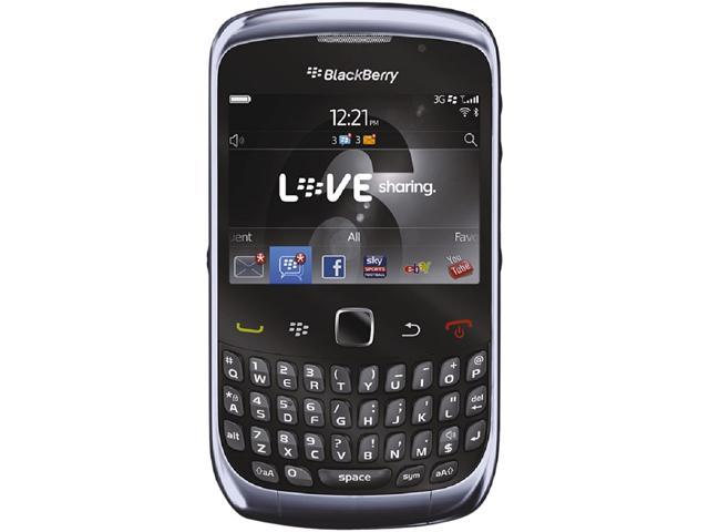 "BlackBerry Curve 3G 9300 256 MB ROM Unlocked GSM OS 5.0 Cell Phone 2.46"" Blue"