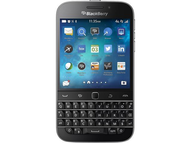 BlackBerry Classic 16GB Unlocked Cell Phone, 3.5