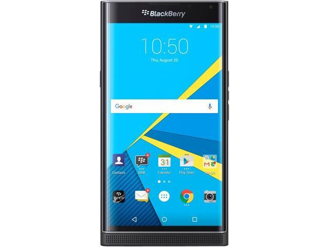BlackBerry Priv STV100-1 32GB 4G LTE Unlocked GSM 4G LTE Android Certified Refurbished Phone w/ 18MP Camera 5.4