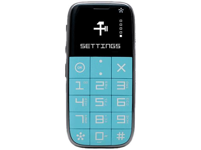 Just 5 J510 Unlocked GSM Cell Phone Menthol