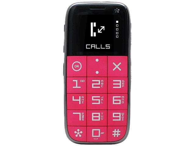 Just 5 J510 Unlocked GSM Cell Phone Pink