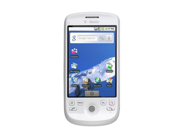 """HTC myTouch 3G ROM: 512 MB&#59; RAM: 192 MB Unlocked GSM Smart Phone w/ Android OS / Video Messaging / Google Talk 3.2"""" White"""