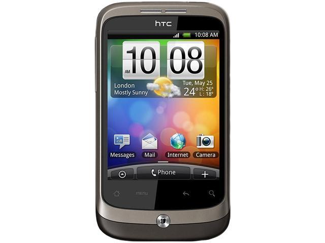 HTC Wildfire Brown Unlocked GSM Smart Phone w/ Android OS 2.1 / Wi-Fi / GPS / 3.2