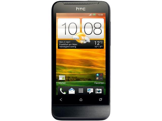 "HTC One V 4 GB, 512 MB RAM Unlocked Cell Phone 3.7"" Black"