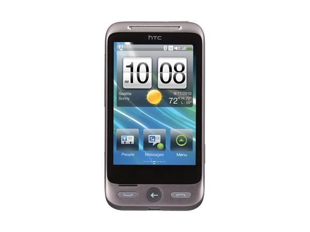 "HTC Freestyle 256 MB RAM, 256 MB ROM Unlocked Cell Phone 3.2"" Silver"