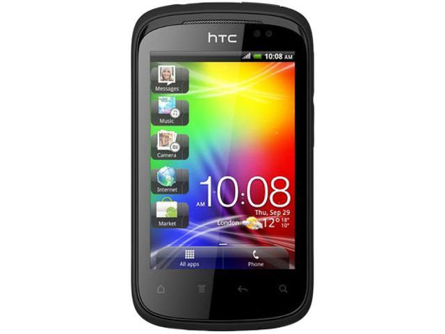 HTC Explorer A310e Black Unlocked GSM Android Cell Phone