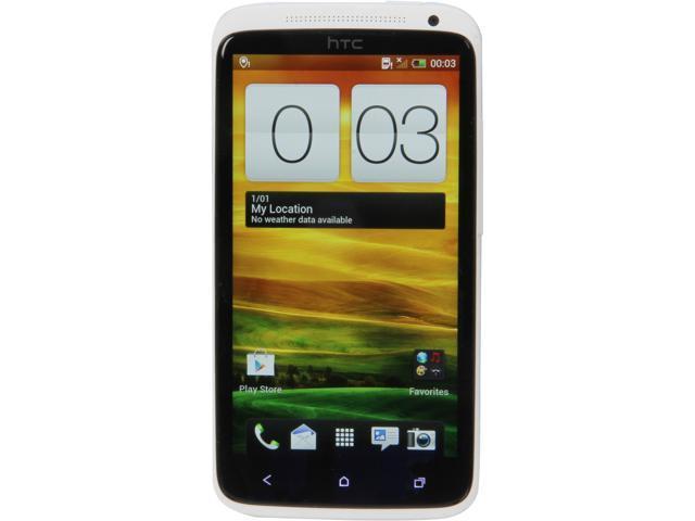 "HTC One X S720E 16 GB storage, 1 GB RAM 16GB Unlocked Cell Phone 4.7"" White"