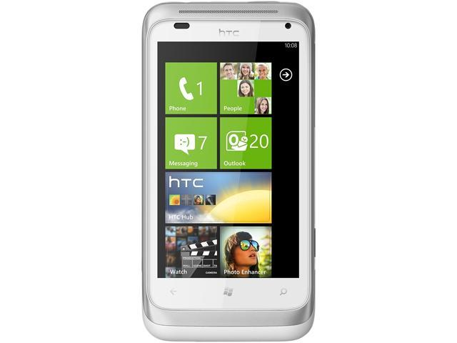 HTC Radar C110e White/Silver 8GB Unlocked Cell Phone