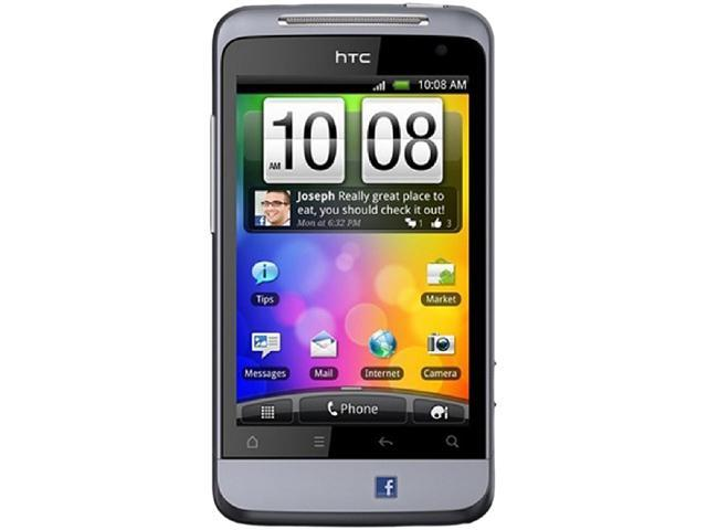 HTC Salsa C510e Purple Unlocked Cell Phone