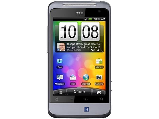 "HTC Salsa C510e 512 MB ROM, 512 MB RAM Unlocked Cell Phone 3.4"" Purple"