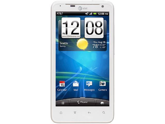 HTC Vivid X710a White 3G 4G LTE 16GB Unlocked Cell Phone
