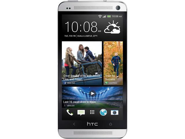 "HTC ONE 3G Version 32 GB, 2 GB RAM 32GB Unlocked GSM Cell Phone 4.7"" Silver"