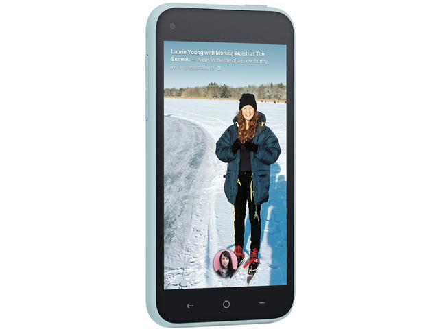 """HTC First 16GB 16GB Unlocked GSM Android Cell Phone 4.3"""" Myst Blue"""