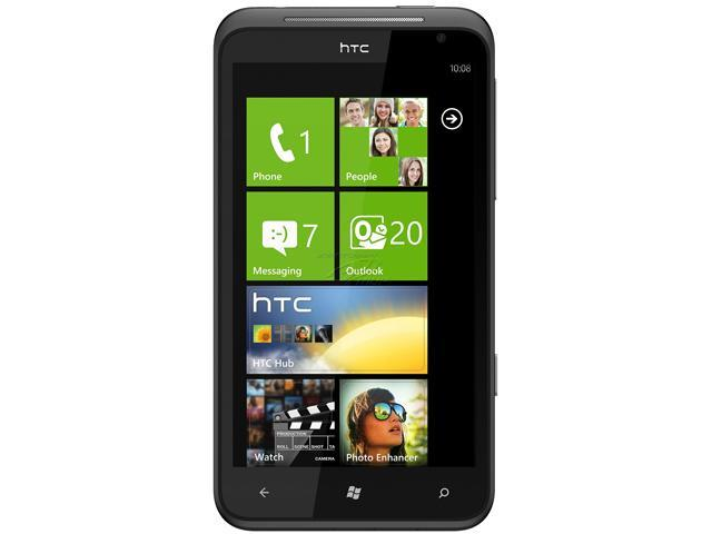 HTC Ultimate / Titan Gray 3G Unlocked GSM Windows 7.5 OS Cell Phone