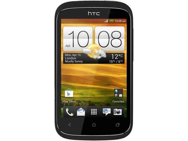 HTC Desire C A320e Black Unlocked GSM Android Cell Phone w/ Beats Audio