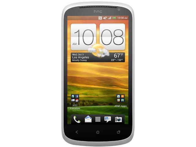 """HTC One VX 8 GB, 1 GB RAM AT&T Unlocked GSM Android Cell Phone 4.5"""" White"""
