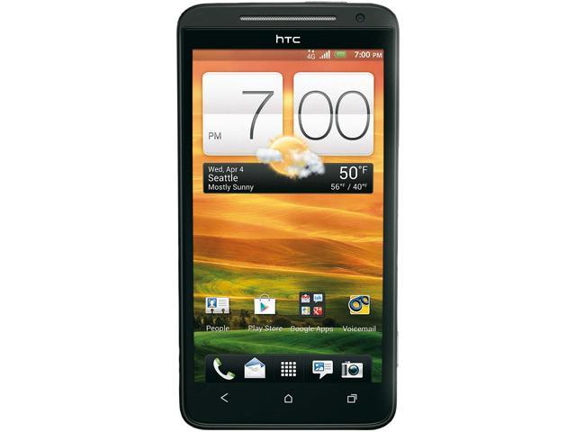 HTC Evo 4G LTE Black Dual-Core 1.5GHz Sprint CDMA Android Cell Phone
