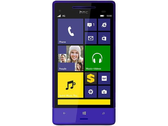 HTC 8XT 8GB Blue Sprint CDMA Windows 8 Cell Phone