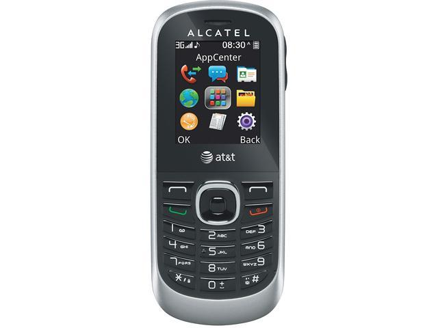 Alcatel 510A Silver/Black Unlocked GSM Cell Phone