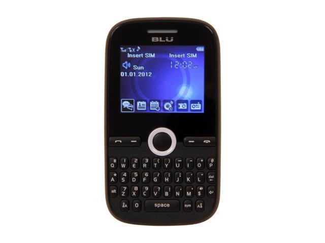 "Blu Deco Mini 64 MB ROM, 32 MB RAM Unlocked Dual SIM Cell Phone 2.0"" White"