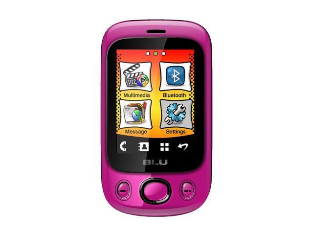 Blu Spark Pink Unlocked Dual SIM Cell Phone