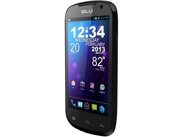 Blu Dash 4.0 D270a Black 3G Unlocked Dual SIM Cell Phone