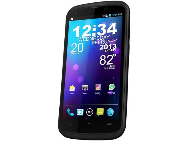 "Blu Tank 4.5 W110i 4GB ROM, 512 MB RAM Unlocked Dual SIM Cell Phone 4.5"" Black"