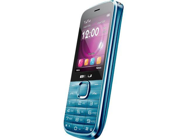 Blu Diva T272T Blue Unlocked Dual SIM Cell Phone